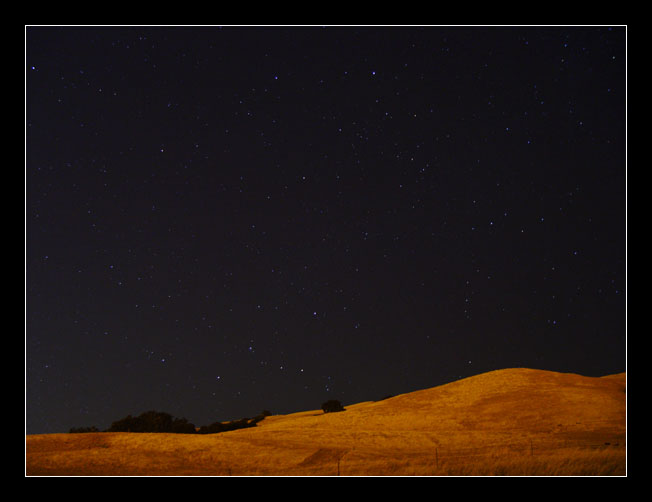 Hills at Night